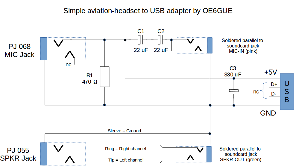 aviationheadset2usb_schematic blog aviation headset to usb adapter aviation headset jack wiring diagram at arjmand.co