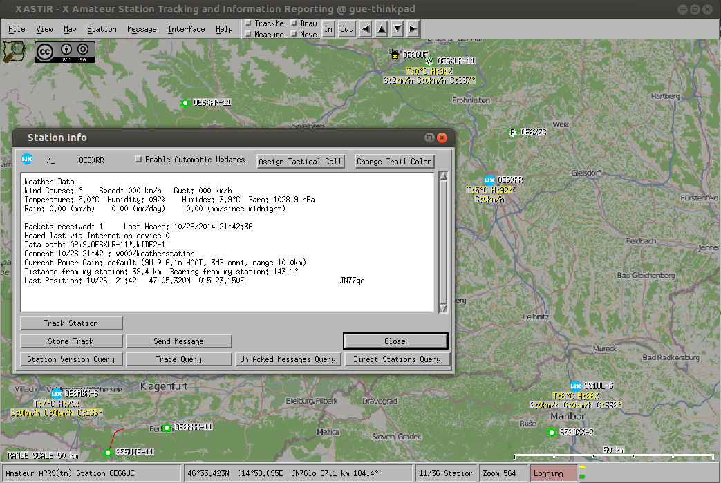 blog :: Receive APRS stations with rtl-str and display them